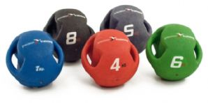 8kg Twin Handle Medicine Ball